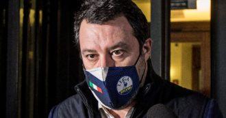 """Governo Draghi, Salvini: """"Tutti dentro come nel dopoguerra. Ministri della Lega? Se ci siamo, non facciamo le cose a metà"""""""