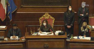 """Crisi di governo, sì alla fiducia. L'annuncio della presidente Casellati: """"Favorevoli 156, contrari 140, 16 astenuti. Senato approva"""""""