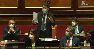 Conte in Aula risponde a Italia Viva: 'Ho difeso vostre istanze, ma poi avete scelto la strada di attacchi mediatici. Non è la migliore per il Paese'