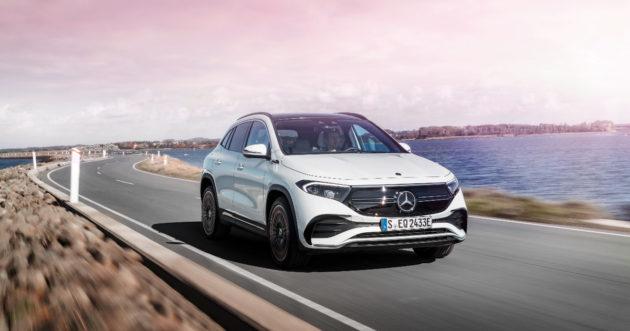 Mercedes EQA: una GLA alla spina