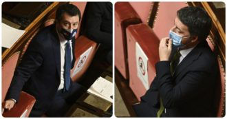 """""""A Palazzo Madama è nato l'asse dei 2 Matteo"""". Per Il Giornale """"Renzi e Salvini si sono sentiti più volte per coordinarsi contro Conte"""""""