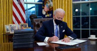 Usa, ecco cosa c'è negli ordini esecutivi firmati da Biden il primo giorno alla Casa Bianca: dal 'muslim ban' al muro col Messico