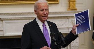 Usa, Biden firma altri due ordini esecutivi: aumento degli aiuti alle famiglie e del salario minimo dei federali