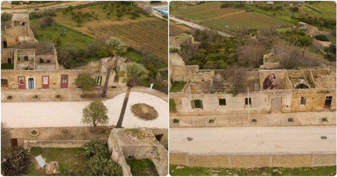 Sicilia, distrutto dal terremoto e off-limits da 53 anni: il vecchio centro di Montevago diventa museo a cielo aperto
