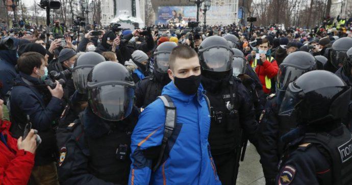 Russia, oltre 3.300 arresti tra i manifestanti pro Navalny. Schermaglie diplomatiche tra Mosca e Washington