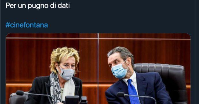 """Lombardia in zona rossa, dopo gli errori si scatena l'ironia con l'hashtag #cineFontana: """"Mamma ho perso i guariti"""", """"Il governatore nel pallone"""""""