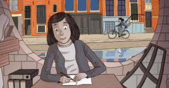 """Giornata della Memoria, la vita di Anne Frank nei disegni di Sualzo. """"Le illustrazioni aiutano il lettore a entrare in contatto con il suo mondo"""""""
