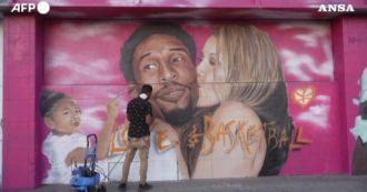 Un anno senza Kobe Bryant: così Los Angeles celebra il campione dell'Nba. Ecco i murales spettacolari lungo le vie della città