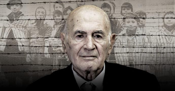 """Giornata della Memoria, Sami Modiano e l'arrivo a Birkenau: """"Le botte a mio  padre, la rasatura, il pigiama a righe, il tatuaggio: ero B7456"""" - Il Fatto  Quotidiano"""