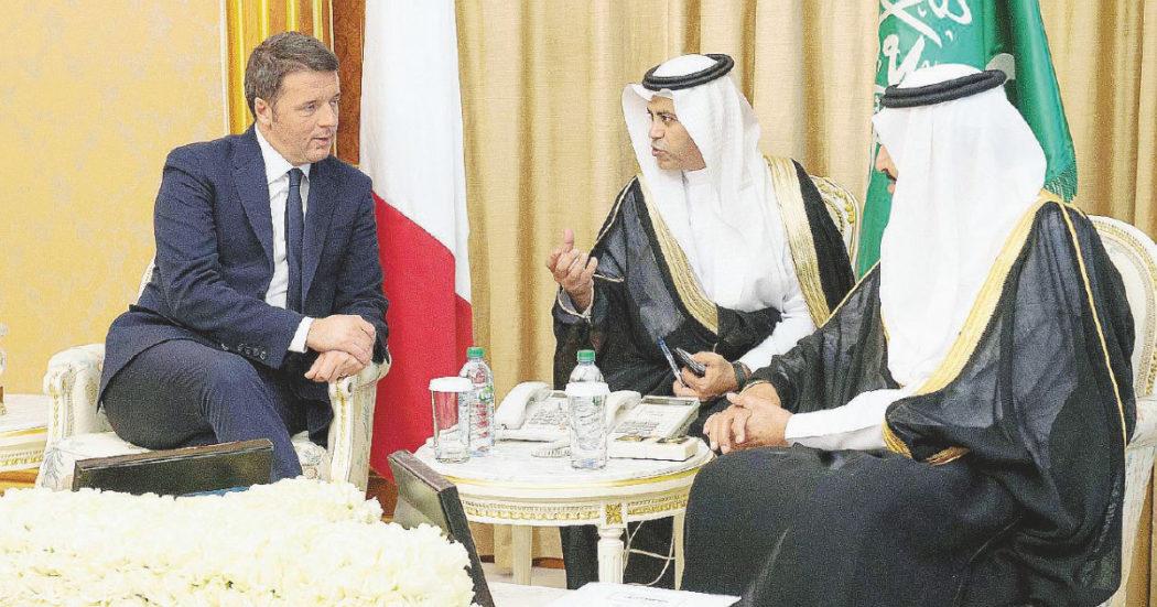 In piena crisi di governo Matteo Renzi vola a Riad per una conferenza di 20 minuti. È nel board di un ente saudita che ha promosso l'evento