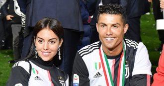 Cristiano Ronaldo va a Courmayeur con la fidanzata: accertamenti dei carabinieri su eventuali violazioni della zona arancione