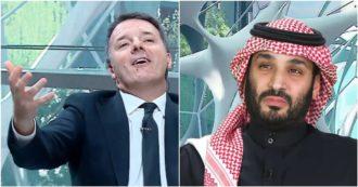 """Renzi in Arabia Saudita elogia il principe Mohammed bin Salman: """"Con vostra leadership il regno può avere un ruolo cruciale"""" – Video"""