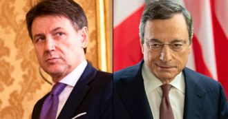 Sondaggi, cresce il gradimento di Draghi. Tra i leader Conte è ancora primo. Fdi ancora su, centrodestra in vantaggio sull'asse Pd-M5s