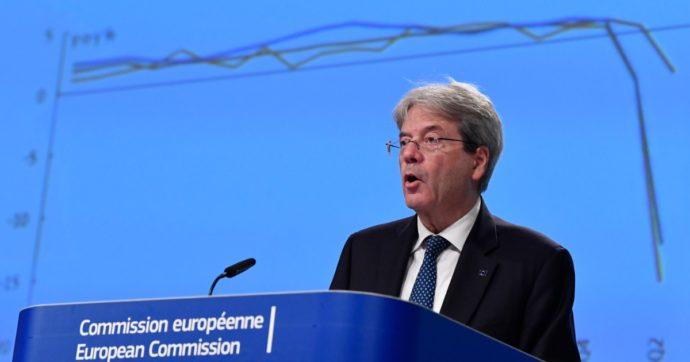"""Le previsioni Ue: """"Nel 2021 pil Italia a +3,4% senza considerare impatto del Recovery. Dati sul lavoro non mostrano vero impatto Covid"""""""