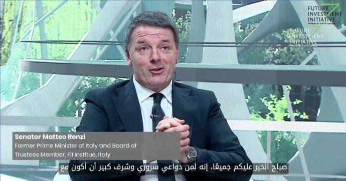 """""""Renzi in Arabia? Se fosse stato deputato avrebbe violato il codice di condotta della Camera. Ma al Senato non c'è alcuna norma"""""""