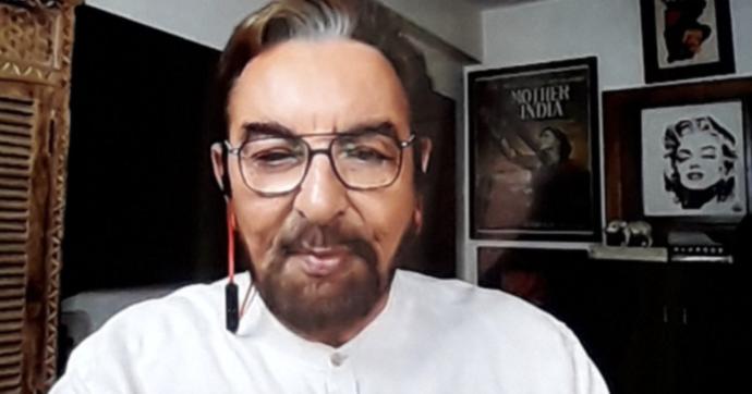 """Domenica In, Kabir Bedi: """"Ci sono alimenti che ci immunizzano come la cannella"""". Ma il professor Richeldi risponde a tono"""