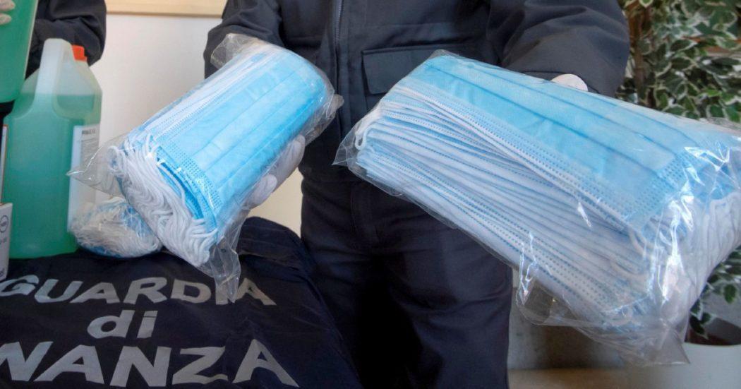 Mascherine fantasma e Regione Lazio, 6 arresti a Taranto: domiciliari per i vertici della società che ha fornito i dispositivi con certificati falsi