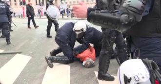 ویروس کرونا ، اعتراضات در بروکسل علیه محدودیت های دولت: 300 نفر دستگیر شدند - VIdeo