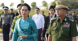 """Birmania, colpo di Stato: arrestata Aung San Suu Kyi. Lei: """"Protestate, non arrendetevi"""". Stop a Internet e voli. Usa, Ue e Onu: no al golpe"""