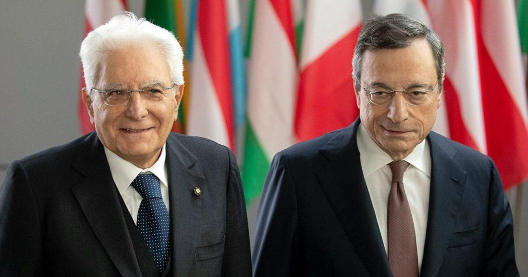 """Mattarella sceglie un governo del presidente e convoca Mario Draghi: """"Voto non opportuno con l'emergenza, serve pienezza delle funzioni"""""""