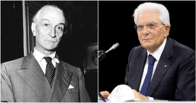 """Bis al Quirinale? Mattarella ricorda  Segni e la sua proposta sulla """"non rieleggibilità del presidente della Repubblica"""""""