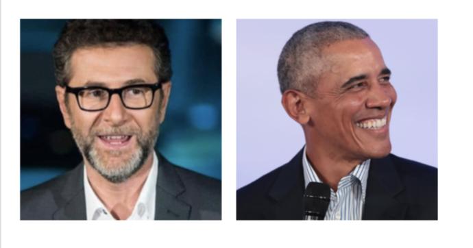 Che Tempo Che Fa, Barack Obama ospite di Fabio Fazio: è la prima volta che l'ex presidente Usa rilascia un'intervista tv in Italia