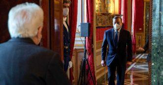 """Governo, la diretta – Draghi: """"Con rispetto mi rivolgerò al Parlamento. Fiducioso che dal confronto con i partiti e le parti sociali emerga unità"""". Due ore di vertice tra Pd, M5s e Leu"""