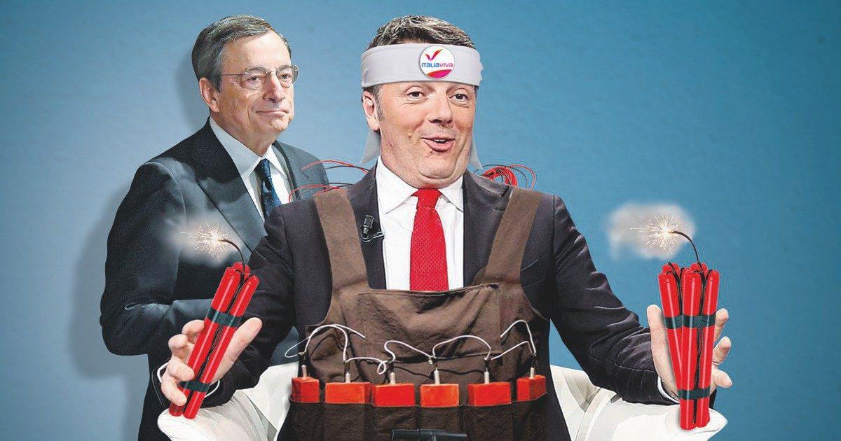 Muore il Conte ter, il Colle vuole il governo Draghi contro il virus