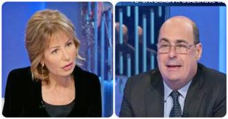 """Zingaretti a La7: """"Sì a Conte leader del fronte progressista. Mi auguro che il M5s appoggi il governo Draghi"""""""