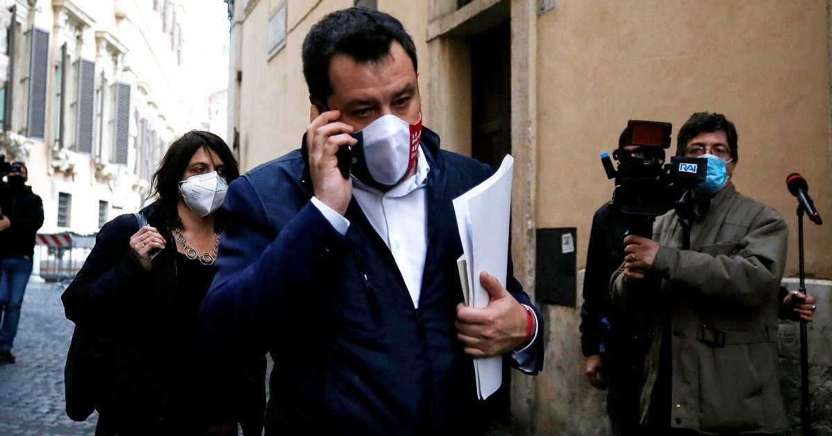"Salvini chiama ""Mario"": la Lega gli apre la porta"