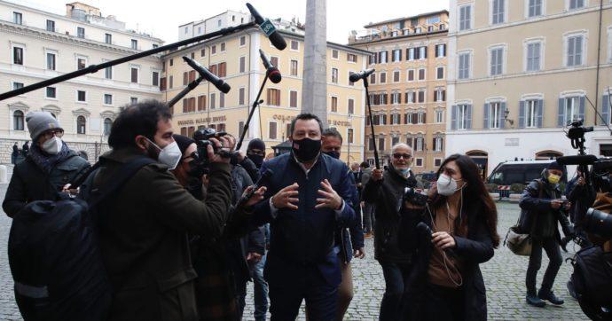 A Mario Draghi dico: non accettare l'appoggio di Salvini
