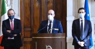 """Consultazioni, Crimi (M5s): """"Disponibili a prendere parte all'esecutivo se ci sono le condizioni. Responsabilità prima del consenso"""""""