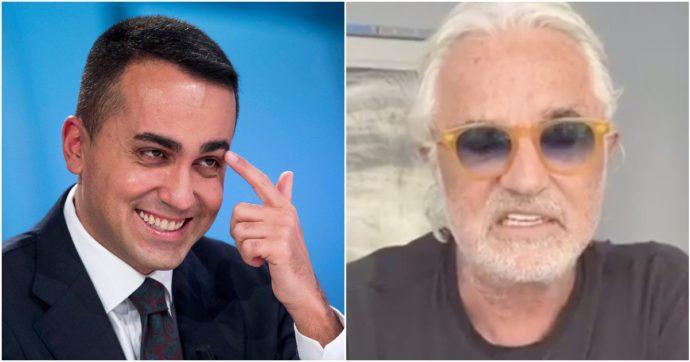 """Flavio Briatore contro Luigi Di Maio: """"Mario Draghi col bibitaro? Come Michelangelo col tizio che fa le strisce pedonali"""""""