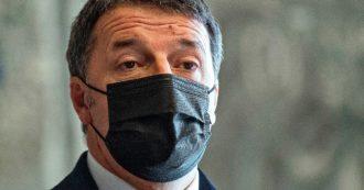 """Dopo la crisi Renzi sostiene di essere """"rilassato e felice"""". Far cadere Conte? """"Un sacrificio personale"""""""