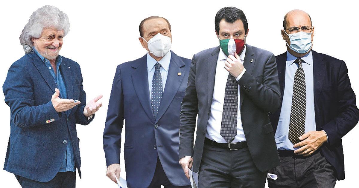 """""""5S andate a pulire i cessi"""", """"Mafia nel dna di FI"""""""
