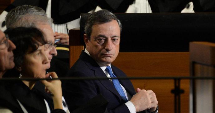 """Draghi e le tasse: """"No alla flat tax, sì ad una maggiore progressività"""". Anche la lotta all'evasione tra le priorità"""