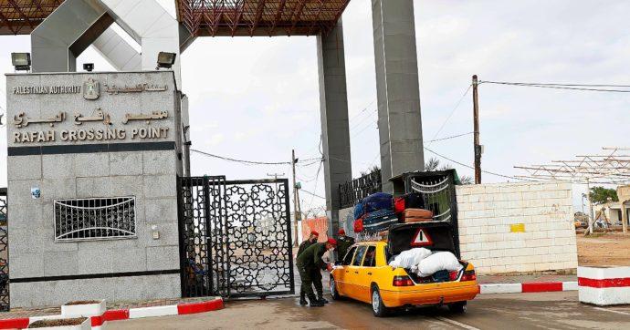 """Riaperto """"a tempo indeterminato"""" il valico di Rafah tra Egitto e Gaza: era chiuso dal 2014 per motivi di sicurezza"""
