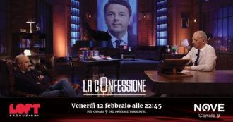 """Gianluigi Paragone a La Confessione (Nove) di Peter Gomez: """"Renzi? Questa crisi non l'ha condotta ballando da solo: aveva le spalle coperte"""""""