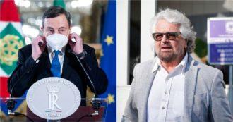 """Governo Draghi, chiuse le urne su Rousseau. Anche Fico per il Sì: """"Ora responsabilità"""". Toninelli: """"No, mai con Berlusconi"""""""