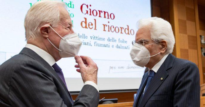 """Giorno del Ricordo, Mattarella: """"L'orrore delle foibe tardò a entrare nelle nostre coscienze"""""""