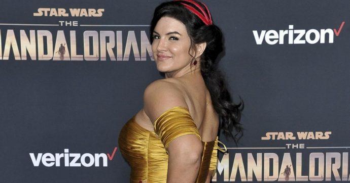 """Gina Carano, licenziata la Cara Dune di The Mandalorian: """"Abominevoli e inaccettabili i suoi post sui social"""""""