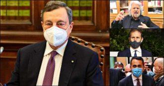 """Risultati voto M5s su Rousseau: vince il Sì al governo Draghi. Di Maio: """"Scelto il coraggio e la via europea"""". Di Battista: """"Mi faccio da parte"""""""