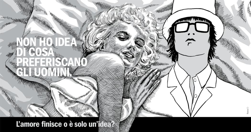 L'Uomo Che Non Ha Idea incontra Marilyn Monroe, Januaria Piromallo e tutte le donne che non hanno idea di dove vada a finire l'amore