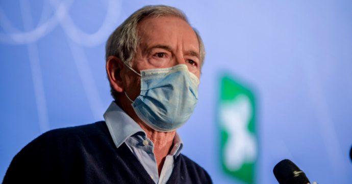 """Vaccini Lombardia, Bertolaso: """"Qui non sono nessuno, non ho autorità"""". E scarica Aria: """"Non sono responsabile della parte informatica"""""""