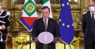 Governo, Draghi legge al Quirinale la lista dei suoi ministri: ecco chi sono – Video