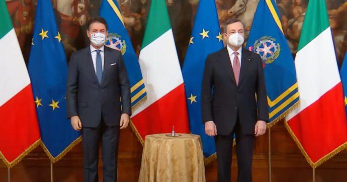Sondaggi, Draghi in testa per la fiducia nei leader con 77 punti. Conte ne perde 9, ma è secondo insieme a Zaia. Ultimi Renzi e Grillo