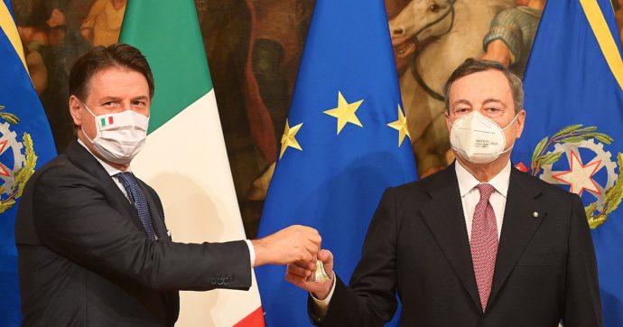 Sondaggi, Draghi perde l'11% dei consensi in due mesi di governo. Risale la fiducia in Conte, Matteo Salvini è il leader più in difficoltà