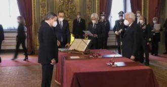 Il giuramento del primo ministro Mario Draghi, ecco le immagini della cerimonia (video)