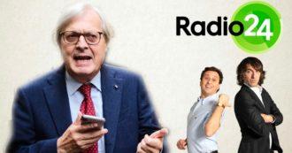 Governo Draghi, alla Zanzara va in scena la lite furibonda tra Parenzo e Sgarbi: