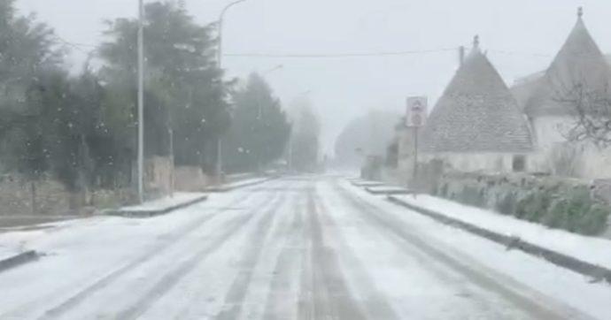 Maltempo, weekend di neve e gelo su tutta l'Italia: oltre mille interventi dei vigili del fuoco nelle ultime 24 ore